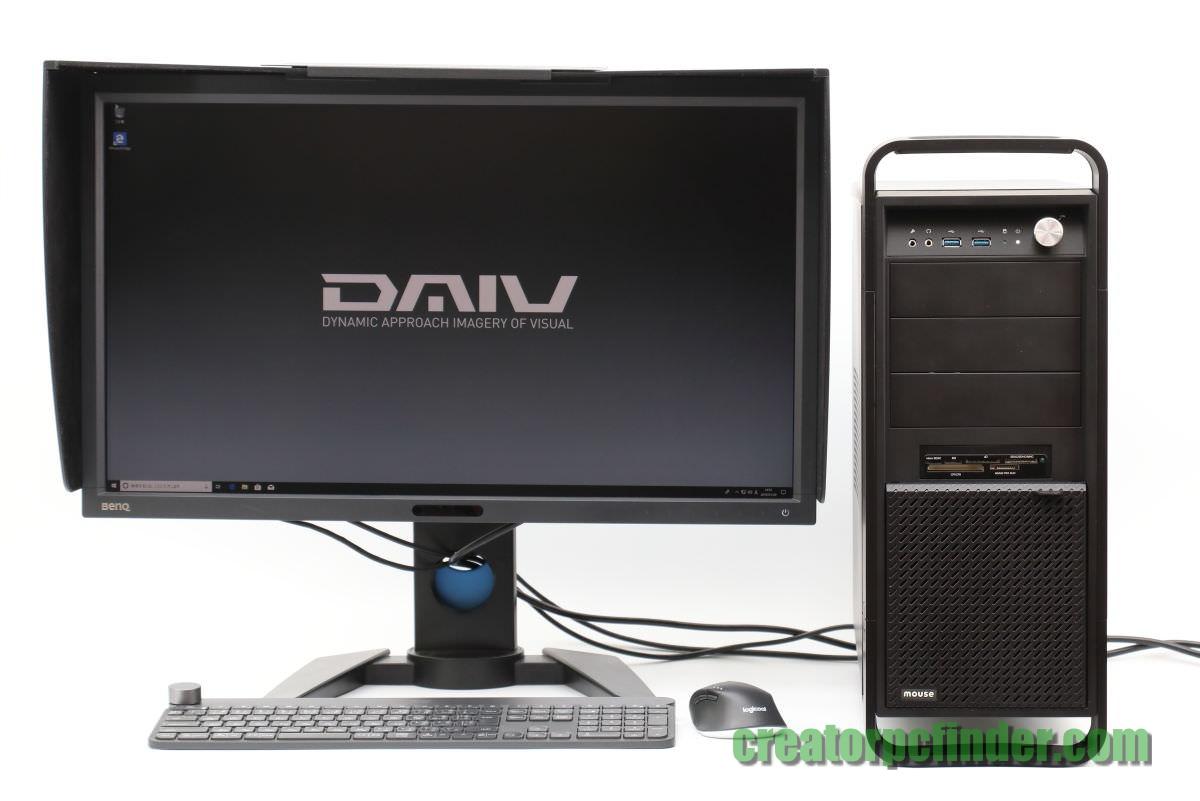 クリエイターパソコン マウスコンピューターDAIV
