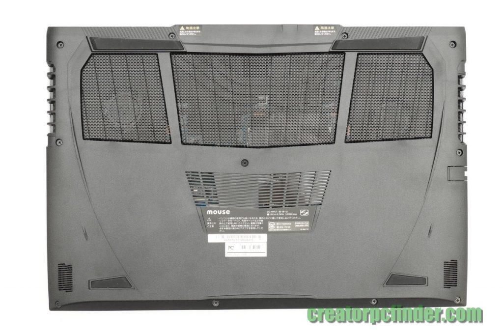 マウスコンピューター DAIV-NG5510 外観