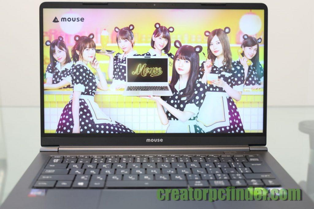 マウスコンピューター DAIV-NG4300のディスプレイ