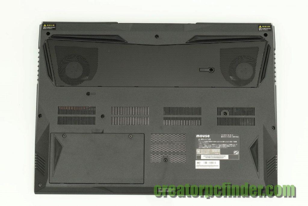 マウスコンピューター DAIV-NG5810 NG5800 外観