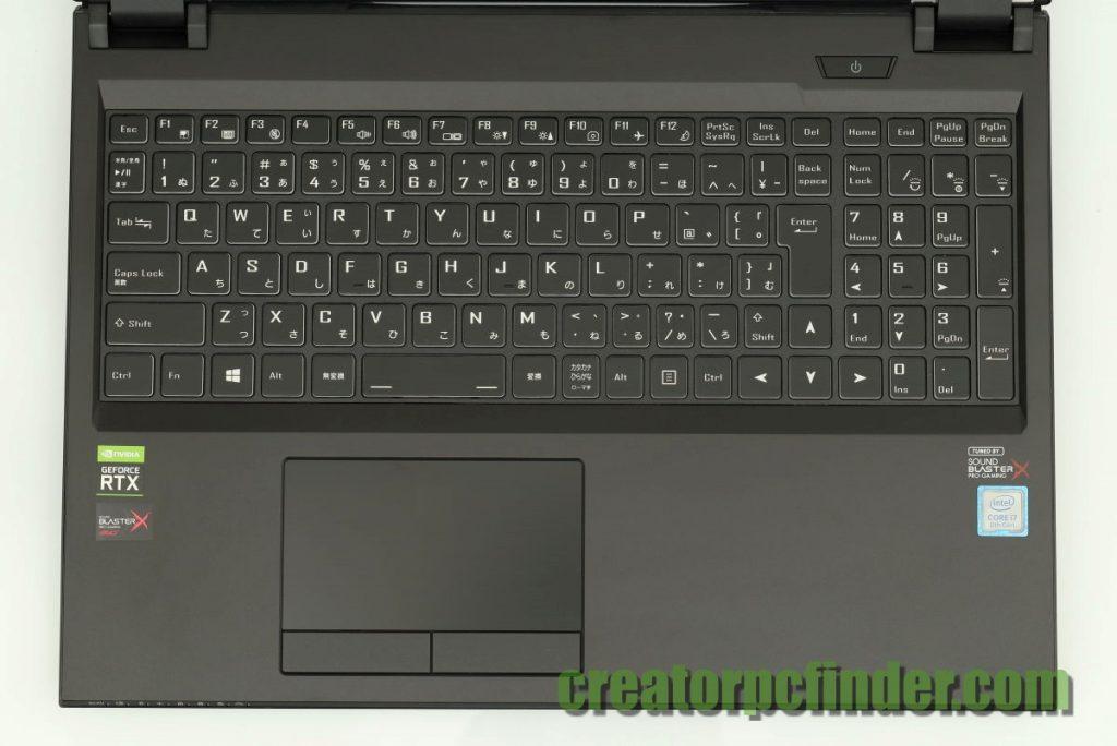 マウスコンピューター DAIV-NG5810 NG5800 キーボード