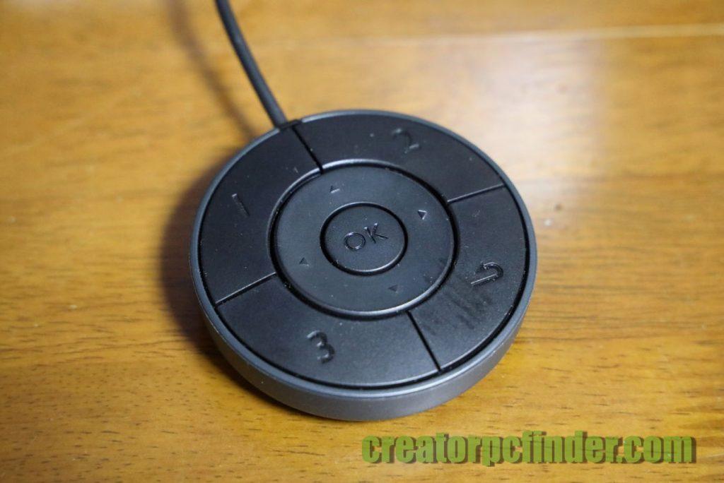 BenQ カラーマネジメントディスプレイ SW271のOSDコントローラー