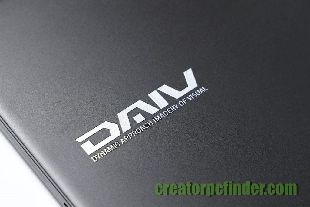 マウスコンピューター クリエイターノートPC DAIV 3N 外観